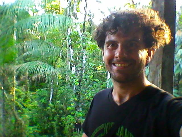 Elvio en la Amazonia