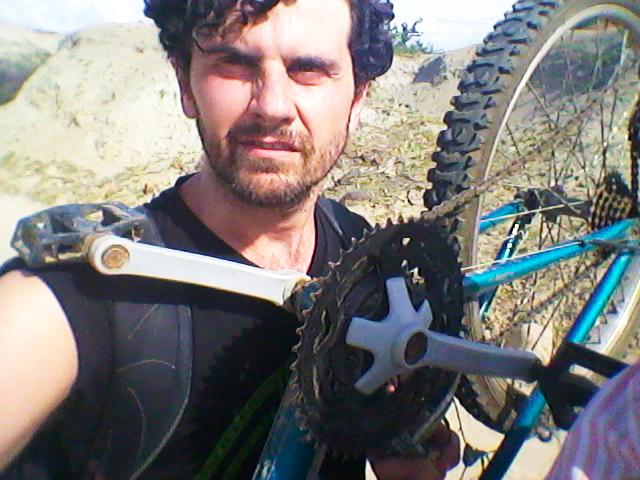 sin bici en el desierto del tatacoa
