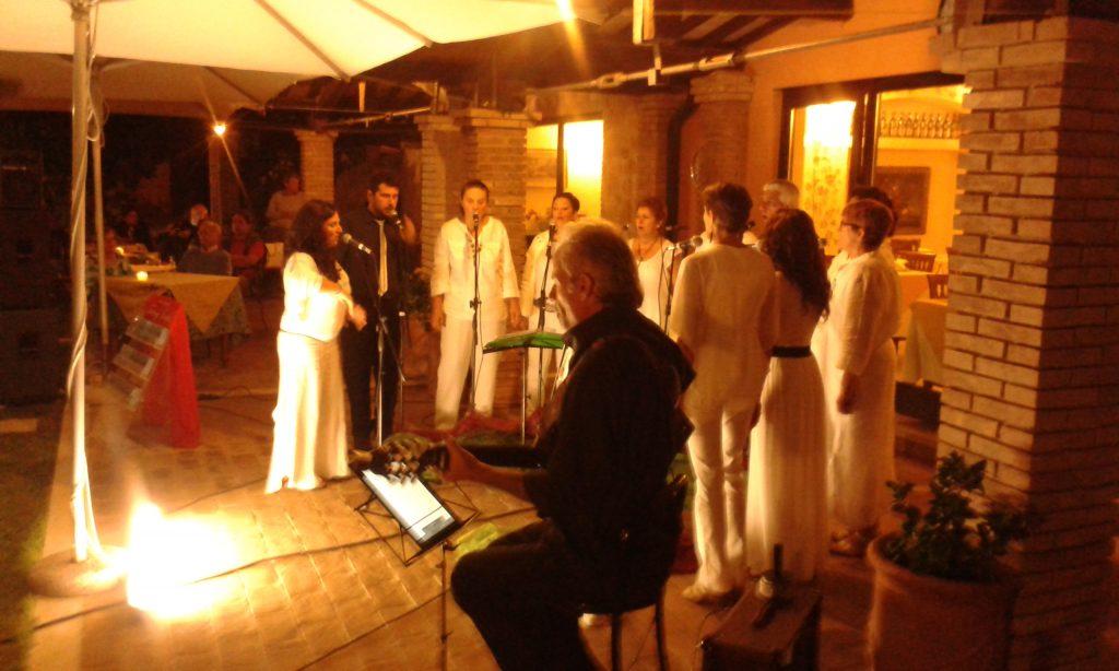 Paolo Mari en concierto a Saturnia (Gr)