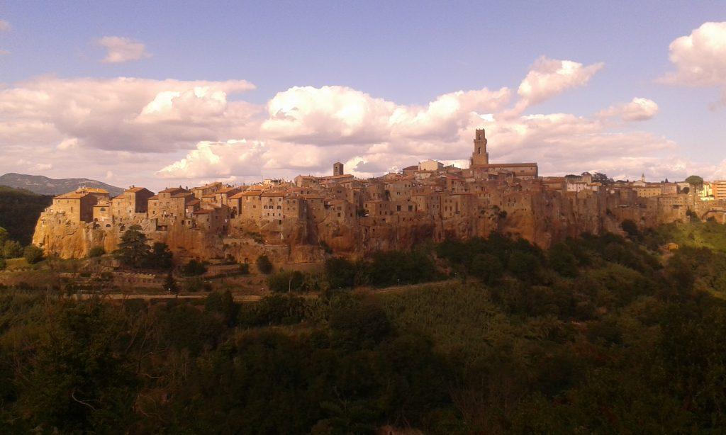 El hermoso pueblo de Pitigliano