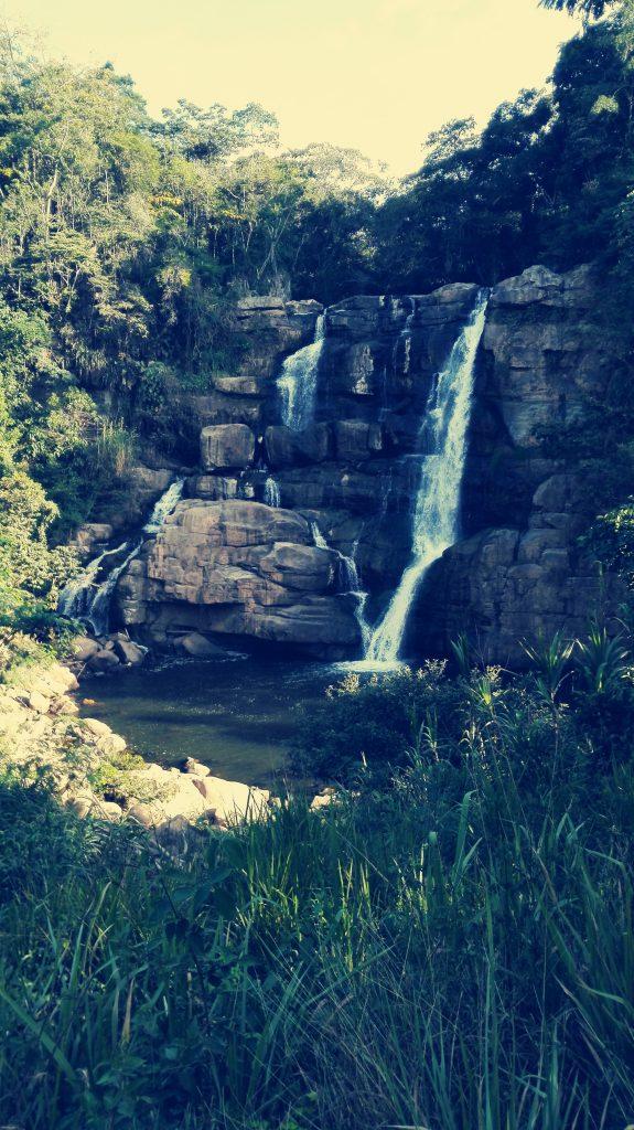 La hermosa cascada del salto de Ver