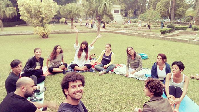 Meditacion en Palermo, Siclia italia